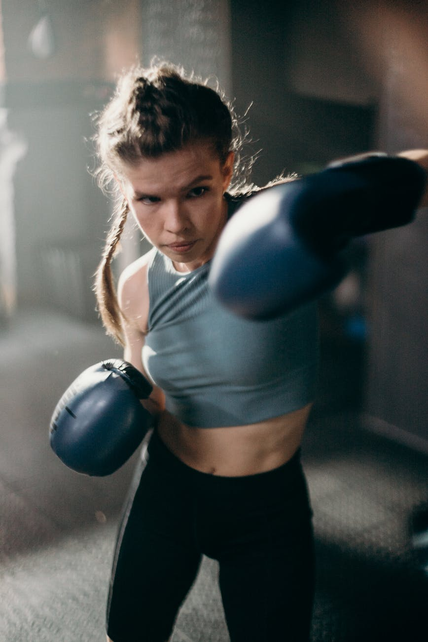 woman fighter  boxer